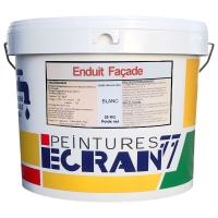 Crépi grain fin blanc, 25 kg