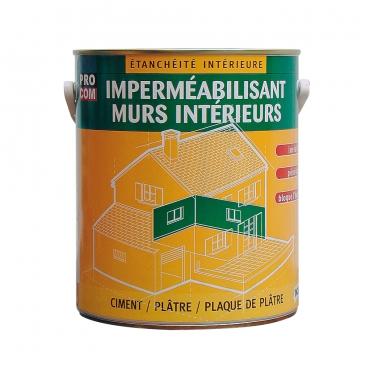 Peinture D étanchéité Imperméabilisante Pour Murs Intérieurs Platres Pierres Briques Ciment Béton Durcisseur