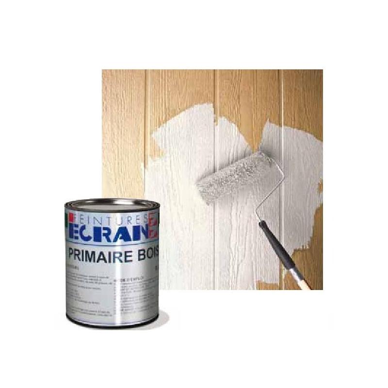 peinture sous couche pour bois neufs ou anciens int rieur et ext rieur blanc primaire bois. Black Bedroom Furniture Sets. Home Design Ideas