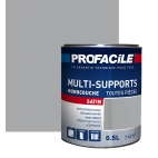 Peinture multi-supports 0L5 GRIS CIMENT