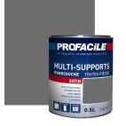 Peinture multi-supports 0L5 GRIS ZINGUE