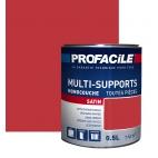 Peinture multi-supports 0L5 ROUGE COQUELICOT