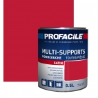 Peinture multi-supports 0L5 ROUGE GARANCE