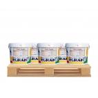 Crépi grain fin blanc pour intérieur et extérieur, 25 kg