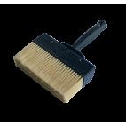 Brosse pour application enduit de cuvelage, enduit ciment d'étanchéité C3, emulsion de bitume BITUFLASH - PROCOM