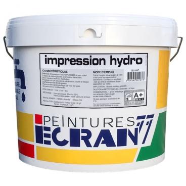 Peinture primaire professionnelle, isolant, pour travaux neufs et d'entretien, blanc, IMPRESSION HYDRO