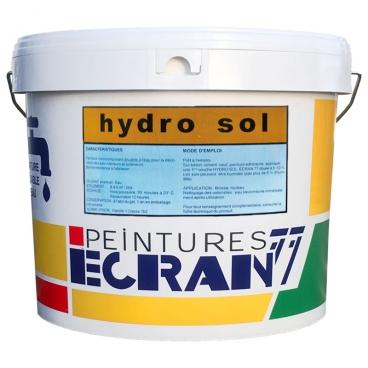 Peinture professionnelle, satin, intérieurs et extérieurs, protection et décoration des sols, blanc, HYDRO SOL
